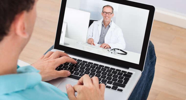 Прием онлайн — дистанционные занятия для наших пациентов